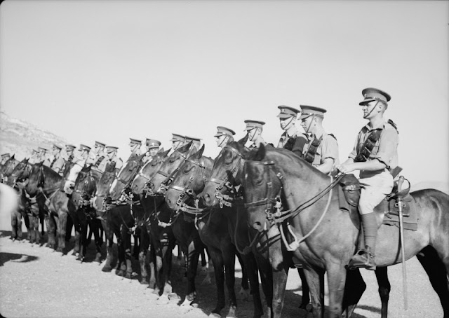 "Scots Dragoons of the ""Royal Scotts Greys"" Regiment , 31 July 1941 worldwartwo.filminspector.com"