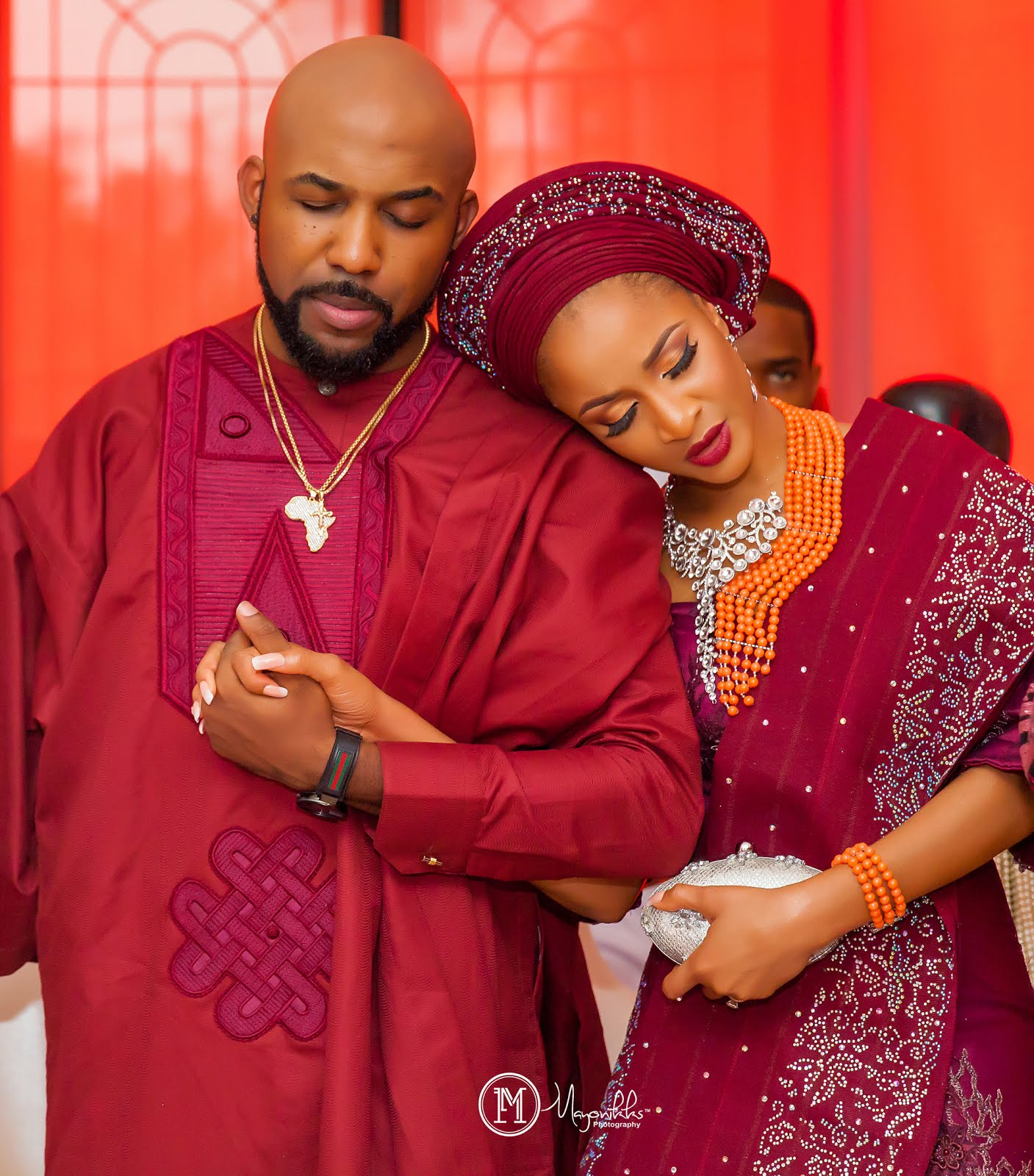 More Official Photos From Banky W And Adesua Etomi S Wedding Introduction Have Now Surfaced Online Check Them Below