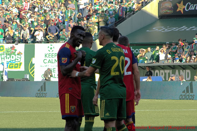real salt lake, portland timbers