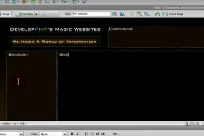 Web CMS Kustom