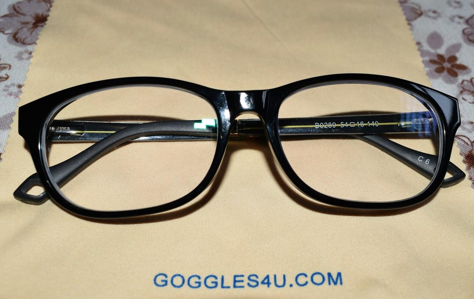 themysteriousgirl googles4u eyeglasses review bogo offer