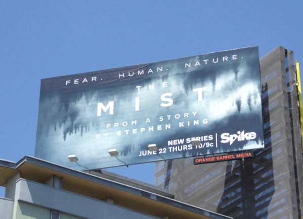 Mist TV remake billboard