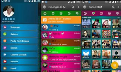 BBM Mod Disco V3.2.5.12 Apk [BBM Mod Kelap Kelip]