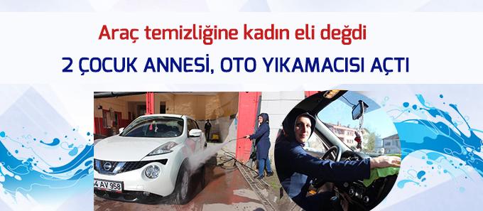 """Miraç Oto Kuaför """"Araç temizliğine kadın eli değdi"""" başlığı ile ulusal ve yerel basında..."""
