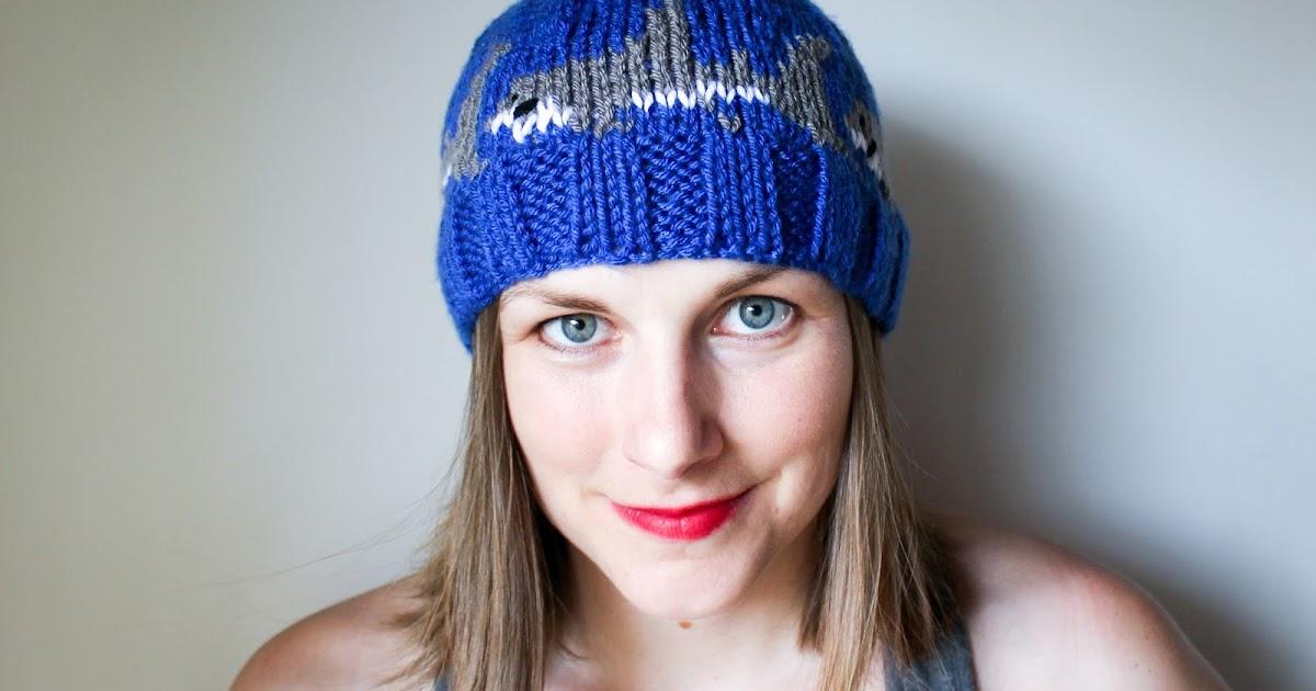 Craftimism Shark Knit Hat