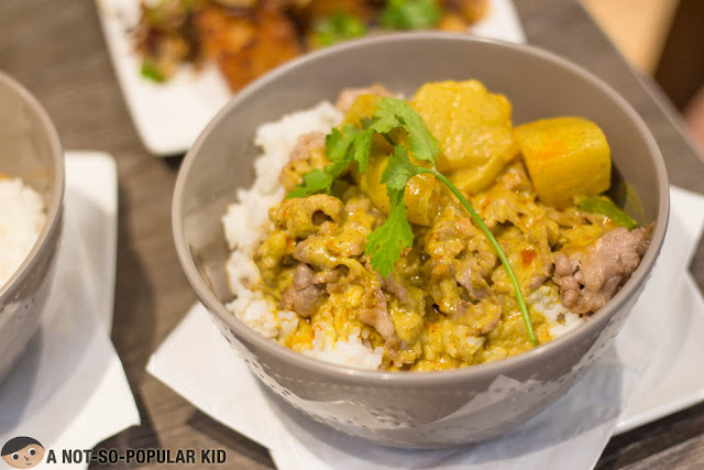 Tuan Tuan's Creamy and Dreamy Curry Dishes for P168