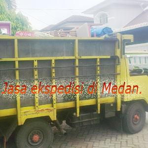 Ekspedisi di Medan.