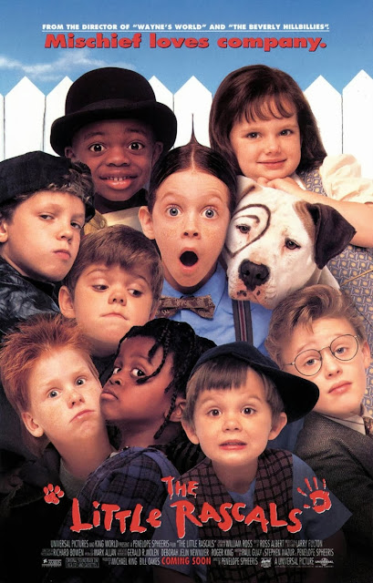 "Cartaz original do filme ""Os Batutinhas"" (Little Rascals) de 1994."