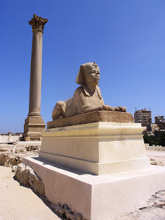 pompey's pillar Alexandria attractions