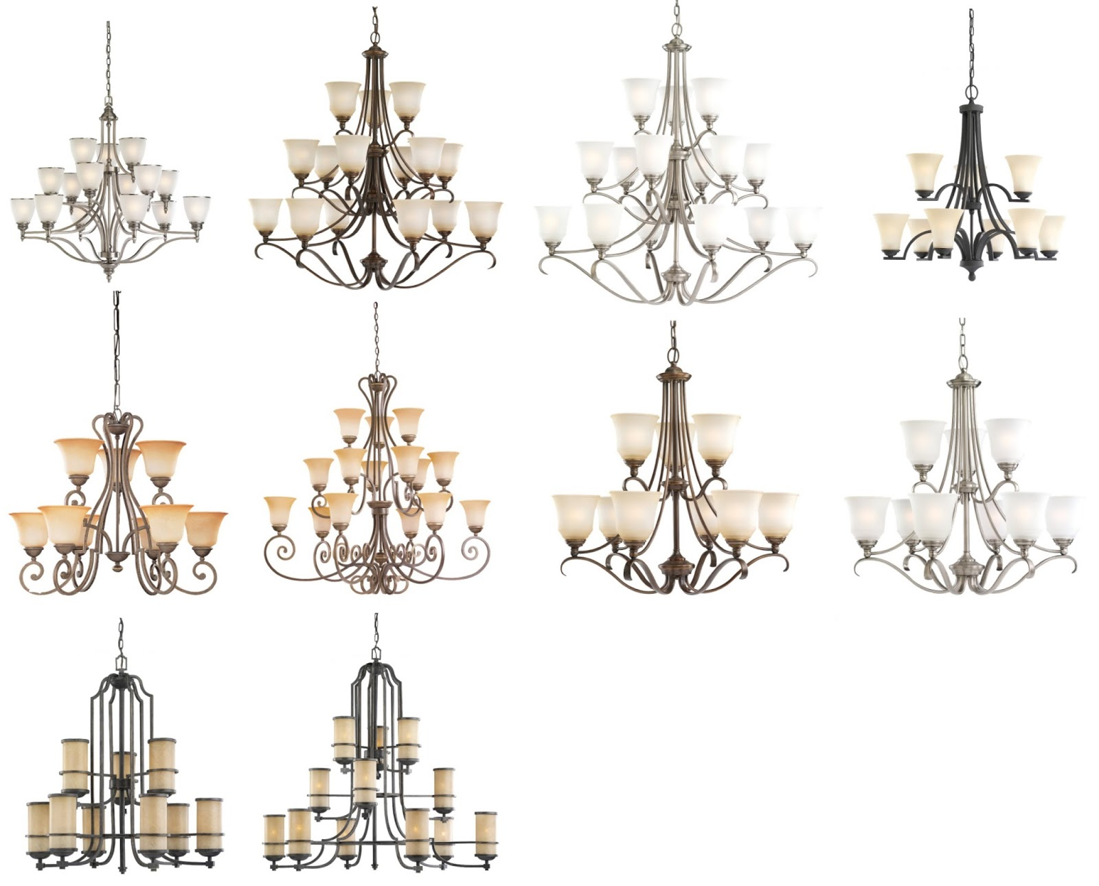 Unique Collections Of Cheap Chandeliers: Different Types ...