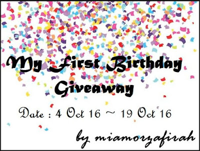 http://miamorzafirah.blogspot.sg/2016/10/my-first-birthday-giveaway-by.html
