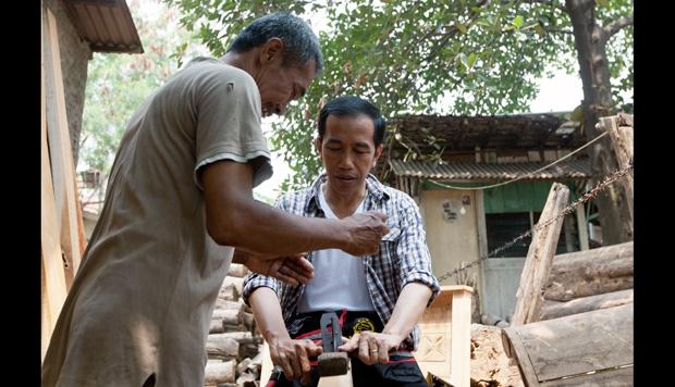 Gerindra: Jokowi Pakai Gaya Kepemimpinan Tukang Mebel