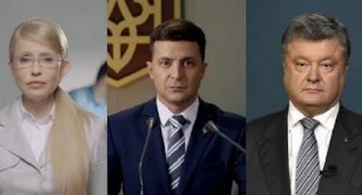Зеленський лідирує в рейтингу КМІС, на другому місці – Порошенко
