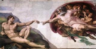 Nomes bíblicos para menino (Imagem: A Criação de Adão - Michelangelo)
