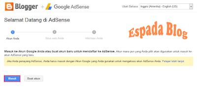 Cara Mendaftarkan Blog Ke Google Adsense 2
