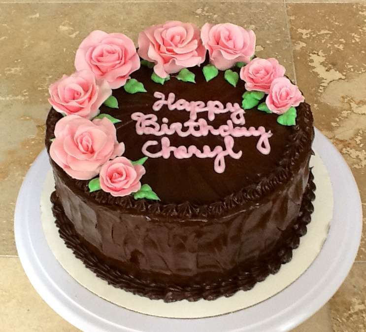 Citrus Spice Bakery: Birthday Roses