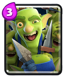 Carta Gangue de Goblins Clash Royale - Cards Wiki