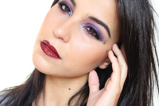 Deep Purple Look Makeup/Tutorial