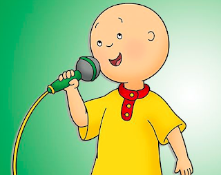 Why does Caillou have no hair