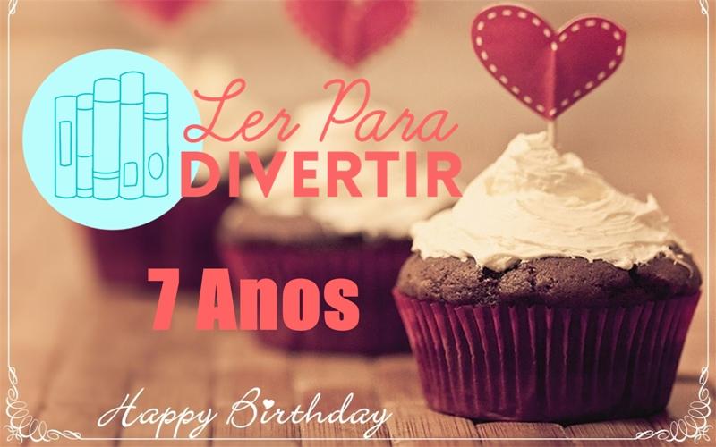 Promoção Aniversário de 7 anos do blog