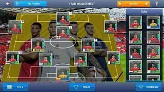 Download DLS 17 Mod FIFA 17 by Burhan Apk + Data Obb