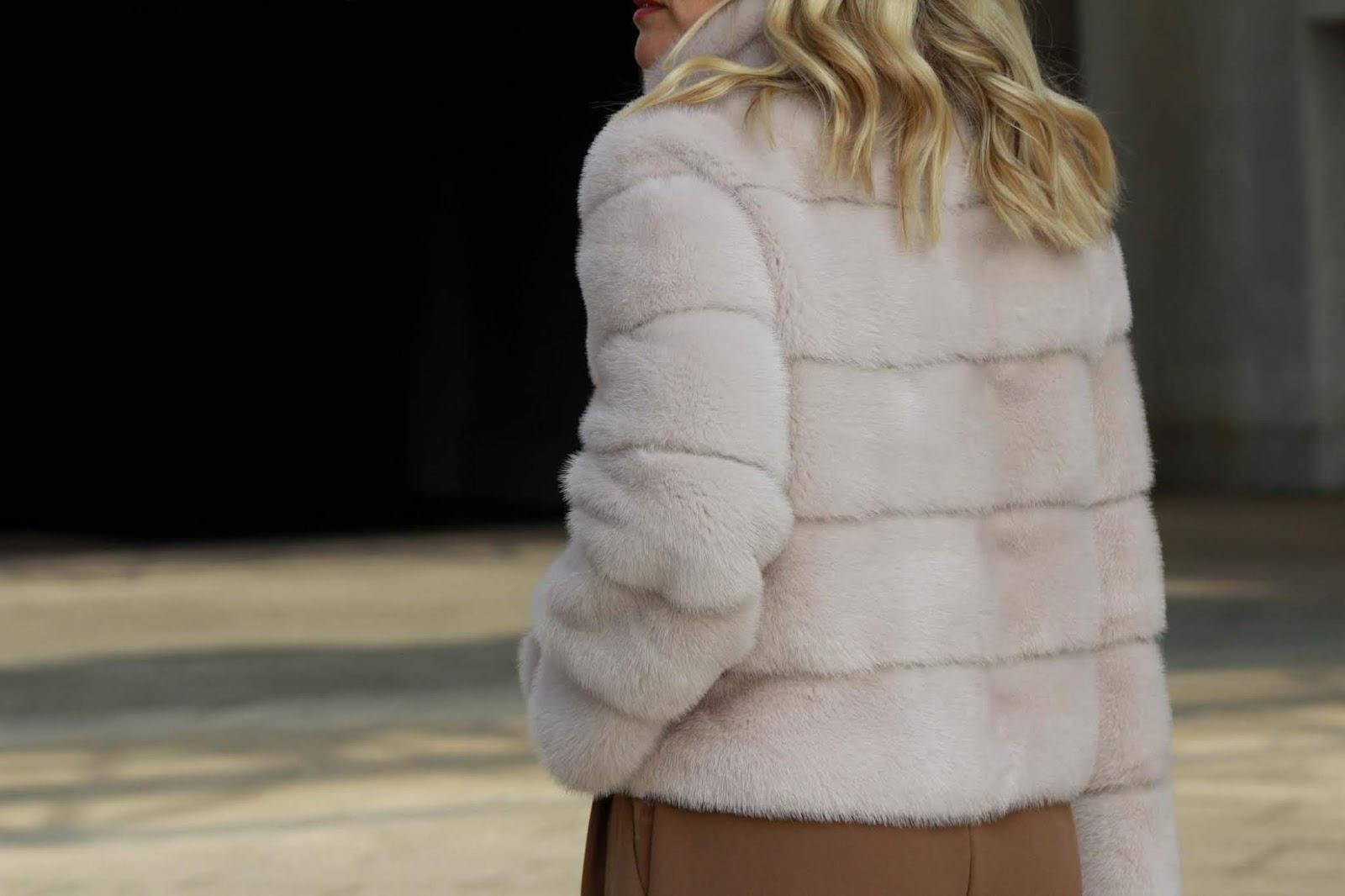 Eniwhere Fashion - Gilet pelliccia - Vintage contemporaneo