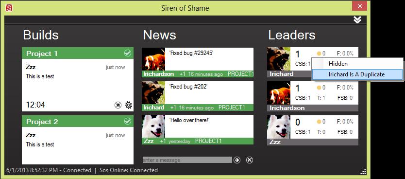 Siren of Shame: Released 2 1 1