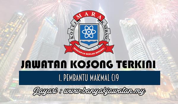 Jawatan Kosong Terkini 2017 di Kolej MARA Kuala Nerang