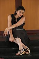 Khanishka new telugu actress in Black Dress Spicy Pics 25.JPG