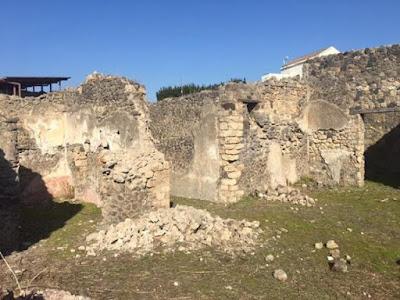 Νέα ζημιά στην Πομπηία