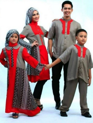 model baju muslim keluarga terbaru