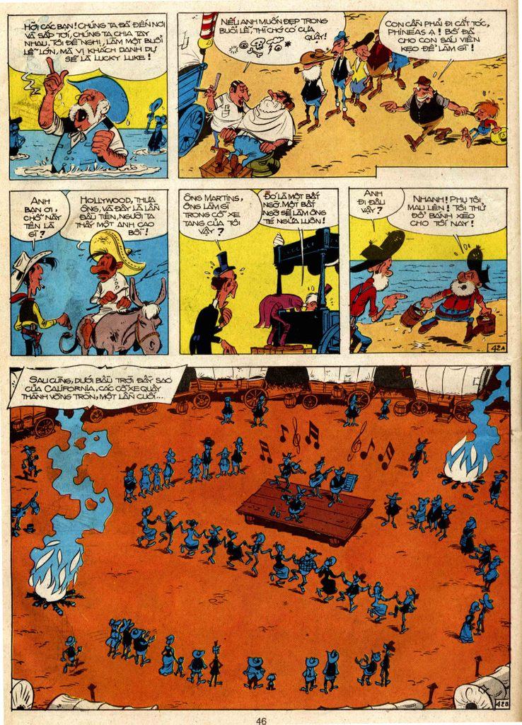 Lucky Luke tap 3 - doan lu hanh trang 41