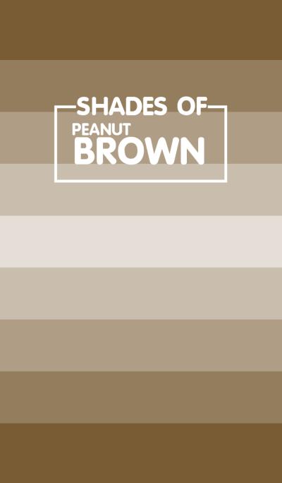 Shades Of Peanut Brown