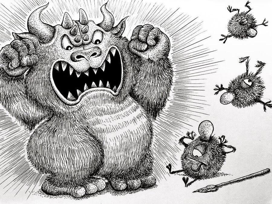 10-When-enough-is-enough-Rex-Lee-Little-Creatures-www-designstack-co