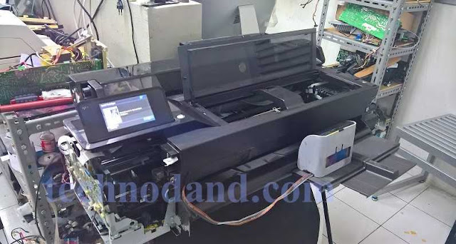 Mengatasi System Error 87:10 Pada Printer  HP Designjet T Z Printer Series