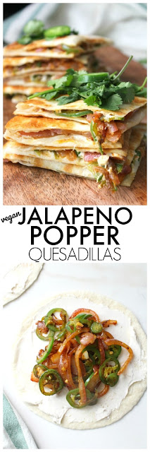 ULTIMATE VEGAN QUESADILLAS