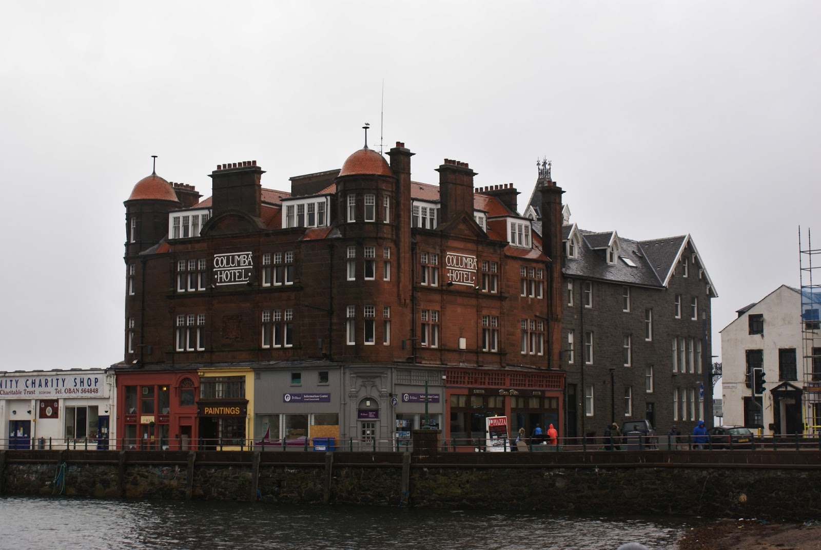 columba hotel oban argyll highlands scotland uk great britain camomille blend