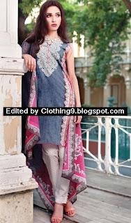 Alkaram Midsummer Dress Collection 2015