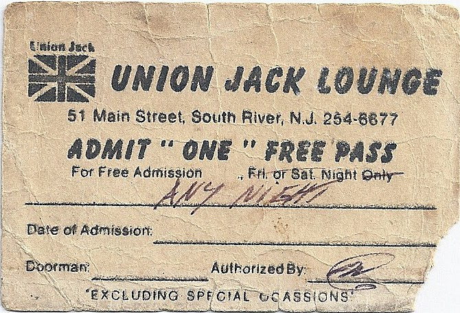 Union Jack free pass in South River, New Jersey