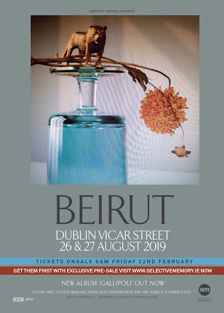 Beirut - Vicar Street - Dublin Show