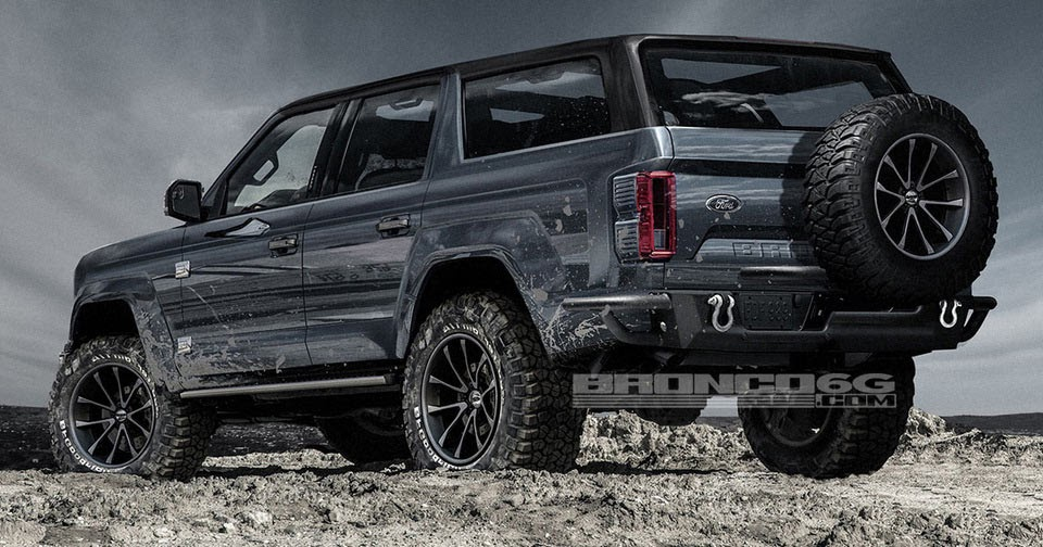 This Virtual Four-Door Ford Bronco Will Open Your Appetite