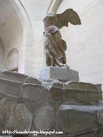 La Victoria de Samotracia, el Louvre, París
