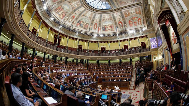 Congreso de España dice 'no' otra vez a un referéndum en Cataluña