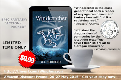 Windcatcher (Stone War Chronicles #1) by A.J. Norfield