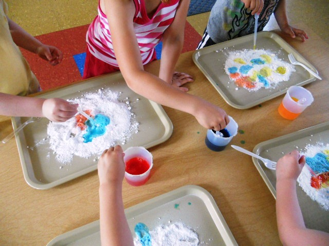 Baking Soda Crafts For Toddlers