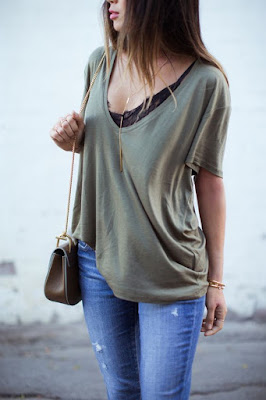 collier tenue casual