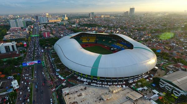Parah! Dipakai Pertandingan Liga 1, Stadion Patriot Bekasi Malah Tak Terawat