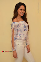 Actress Pragya Jaiswal Latest Pos in White Denim Jeans at Nakshatram Movie Teaser Launch  0025.JPG