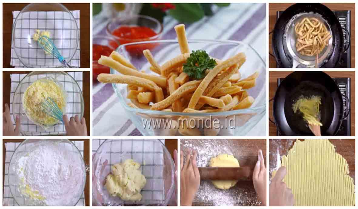 Resep Membuat Cheese Stick Yang Renyah dan Gurih Nyoyyy
