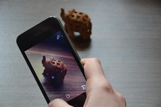 smartphone photograph